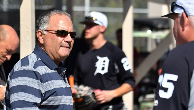 Al Avila, the Tigers executive vice president of baseball operations and general manager, isn't saying who the Tigers will take at No. 1 overall on Monday.