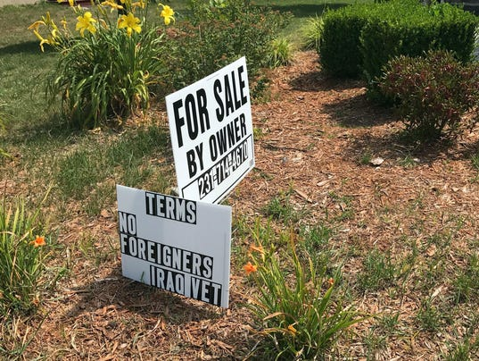 RE: Home Sale Sign