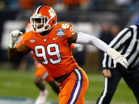 Clelin Ferrell might be the biggest name on a historically great Clemson defensive line.