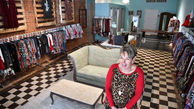 Dodie Robey, owner of Dodie's Closet, has recently opened in a new location at 911 Indiana downtown. Robey has been in the clothing business since 2002.