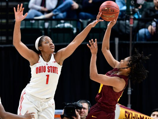 NCAA Womens Basketball: Big Ten Conference Tournament-Ohio State vs Minnesota