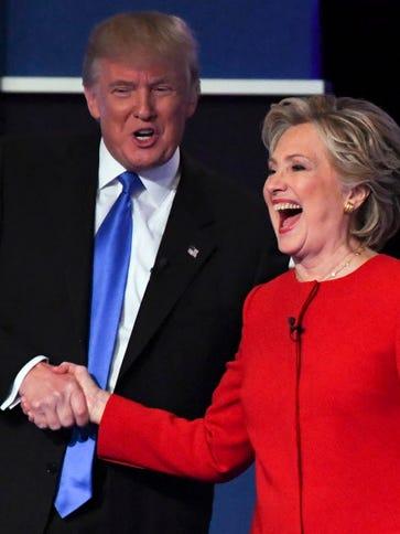 Presidential debate in Hempstead, N.Y., on Sept. 26,