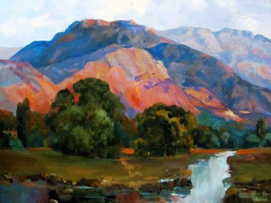 """Southwest Sunset"" by Nina Cobb Walker"