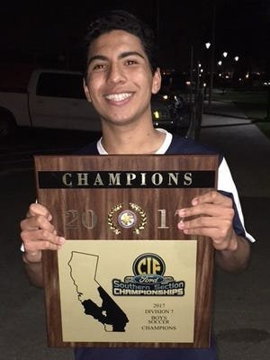 Isaac Carbajal, Santa Clara High