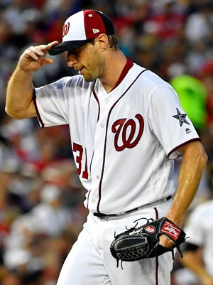Max Scherzer and the Nationals have some work to do the second half of the season.