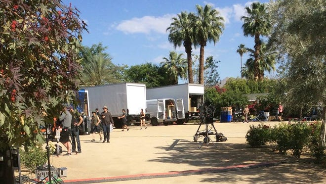 "Scene at Colony 29 in Palm Springs for ""Top Chef"" episode filmed Wednesday featuring a same-sex commitment ceremony."