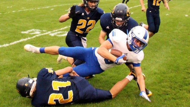 Ionia's Trevor Tooker will be a big playmaker this season.
