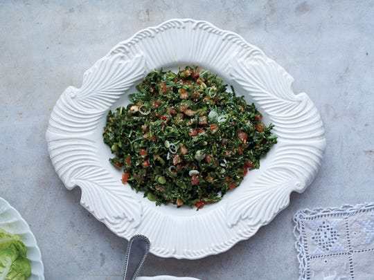 Mint shines in this herb-y version of tabbouleh.