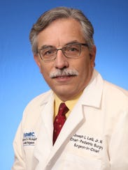 Joseph Lelli, chief surgeon at Children's Hospital,
