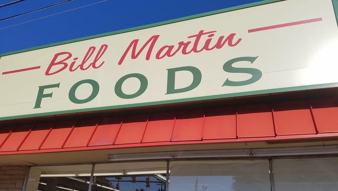 Bill Martin Foods store in Greenbrier.