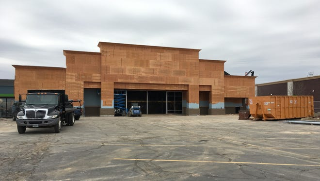 The former Hancock Fabrics is being transformed into a Ross Dress for Less store in Grand Chute.