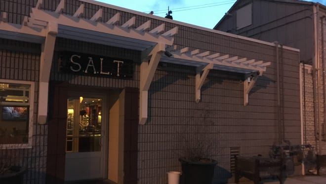 Salt, 401 Main Ave., in De Pere, will close June 4 and reopen a few weeks later as a new restaurant.
