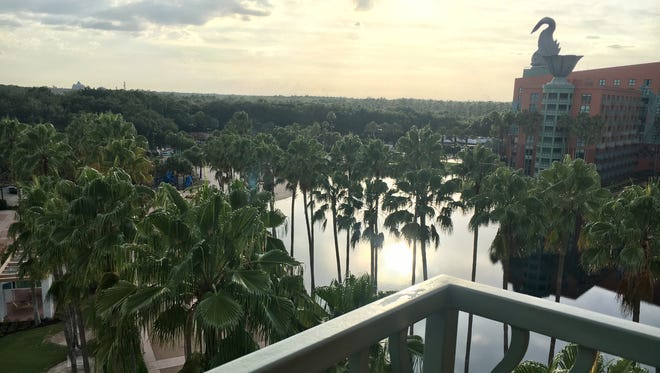 Jennifer Trefelner and her family recently stayed at the Walt Disney World Swan and Dolphin Resort, adjacent to Disney's Boardwalk.