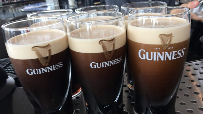 The Guinness Storehouse in Dublin is one of the city's most popular attractions.