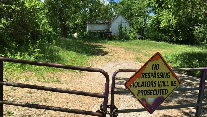 The 140-acre former Rex Kreider farm just north of the James River for many years has been owned by the Springfield-Greene County Park Board. It is not open to the public.