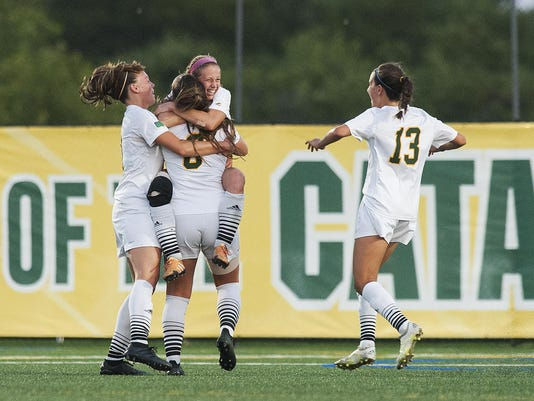Cenrtal Connecticut vs. Vermont Women's Soccer 08/26/16