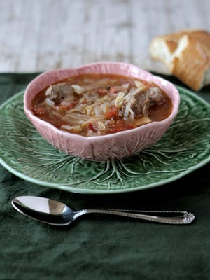 Mom's Cabbage Soup.
