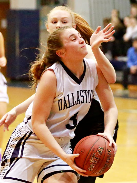 Dallastown vs Delone Catholic girls' basketball semifinal
