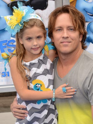 """Larry Birkhead and his daughter, Dannielynn Marshall, will be featured on tonight's """"Celebrity Wife Swap."""""""