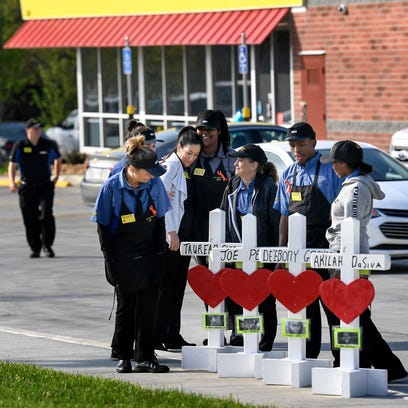 Waffle House reopens with profits going to victims' families over the next month