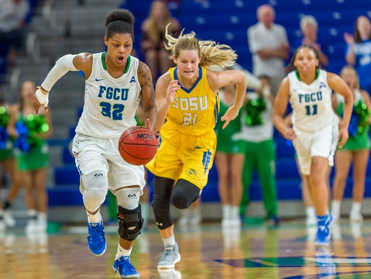 FGCU senior Rosemarie Julien signed a WNBA training contract with the Atlanta Dream on Monday.