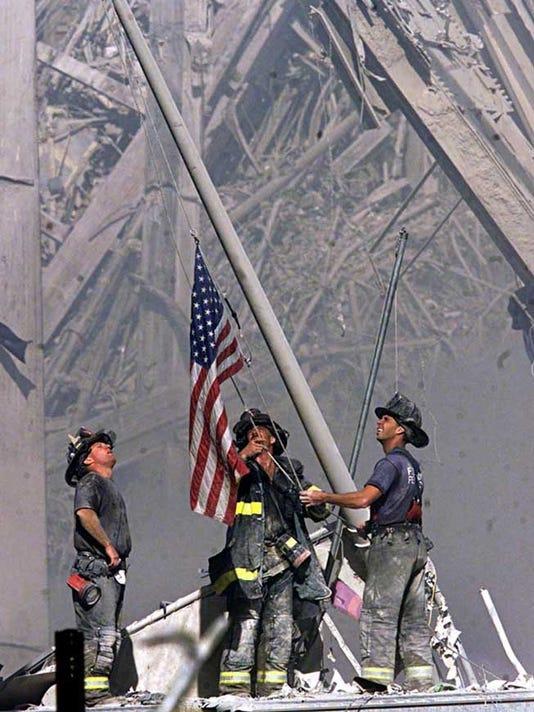 FRANKLIN 9/11 FLAG