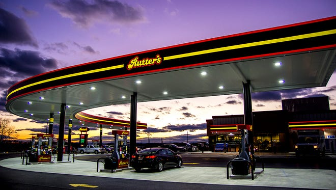The Rutter's Farm Store located on Leader Heights Road in Springfield Township will get a revamp, including a day-and-night canopy that will cover the gas pumps, seen here in York Springs, Adams County.