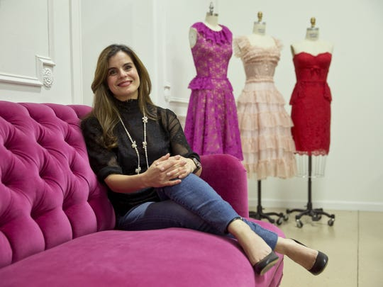 Karen Lozner, owner of Karen's School of Fashion, poses