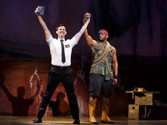 """""""The Book of Mormon"""" returns to Detroit on Tuesday"""