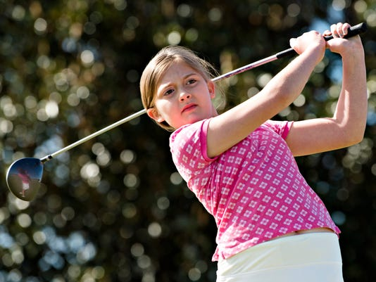 Julie Waldo Nine Year Old Golfer