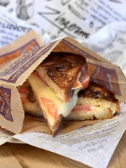 The Works, a grilled cheese sandwich made on Wednesdays at Zingerman's Bakehouse  in Ann Arbor.