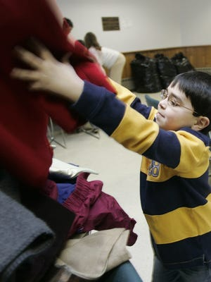 Saturday's Charity Coat Drive at the Boone County Public Library is 11 a.m. to 2 p.m.