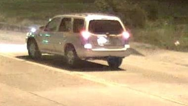 Investigators with the Lafayette Police Department have released this photo of the vehicle they believe was used by the suspects in the earlier reported shootings.  The vehicle is believed to be a mid-2000 model silver or white SUV.  The investigation remains ongoing.