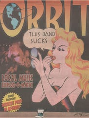 The illustration for this cover of Orbit was handled