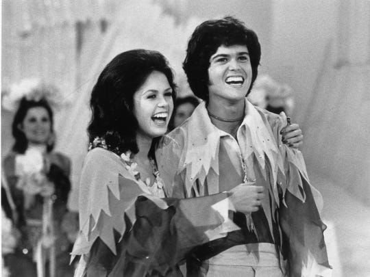 Marie and Donny Osmond hosted a variety show on ABC
