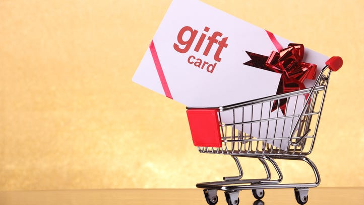 Gift cards; don't let them turn into coal