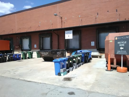 UT Recycling offers a free public recycling drop off,