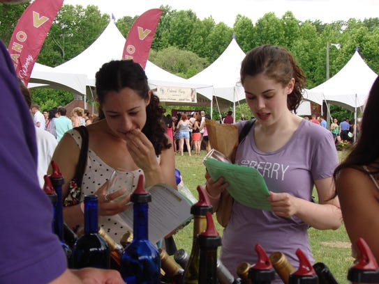 Sample wines from 16 New Jersey wineries at the Washington