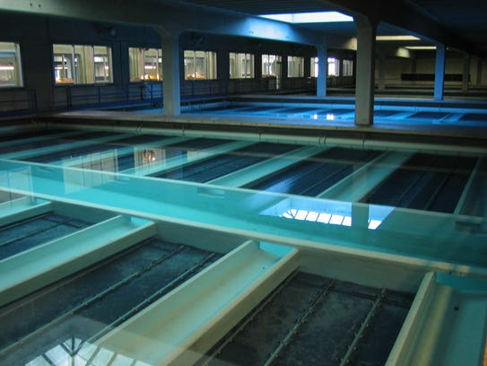 The Milwaukee Water Works filters Lake Michigan water