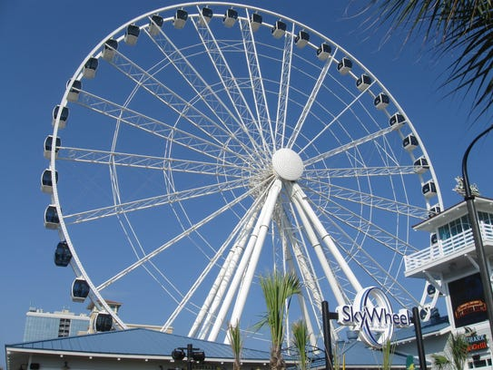 The Levee S Newest Addition An Observation Wheel