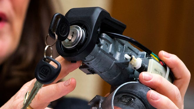 A General Motor ignition swtich like those blamed for deaths, leading to recalls