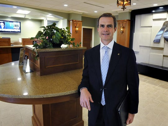 Jimmy Stubbs is the president and CEO of River Bank