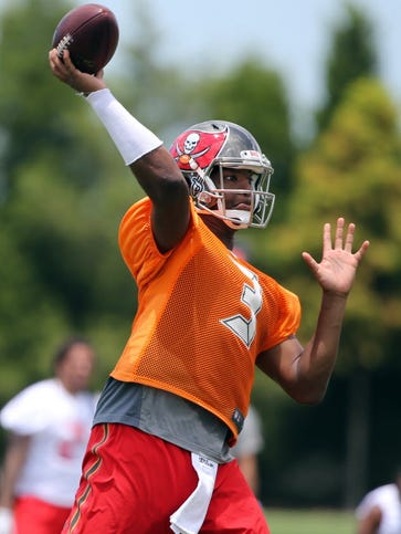 Tampa Bay Bucs quarterback is being giving a crash