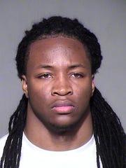 Mugshot of ASU football player Davon Durant.
