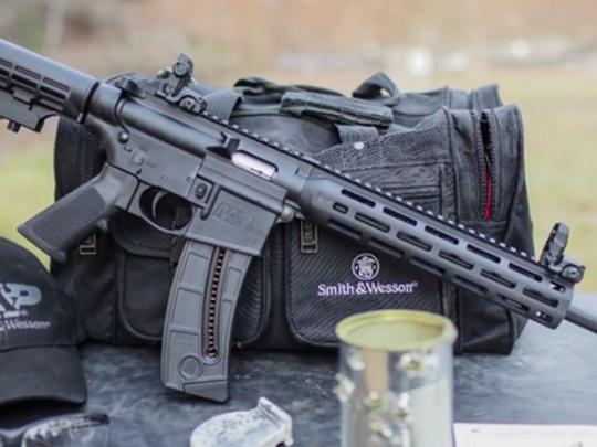 The Smith & Wesson M&P 15-22 Sport