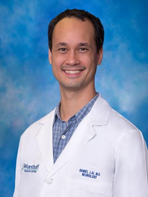 Dr. Daniel Lai is a neurology specialist at Wuesthoff Medical Center in Melbourne.