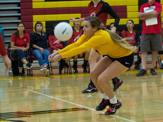 Centennial libero Marin Smith is one of the top returning
