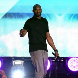 Former NBA player Kobe Bryant speaks onstage during Teen Choice Awards 2016 at The Forum in Inglewood, California, on July 31.