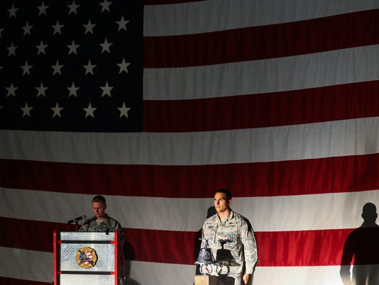 Sept.11 Remembrance at Goodfellow Air Force Base