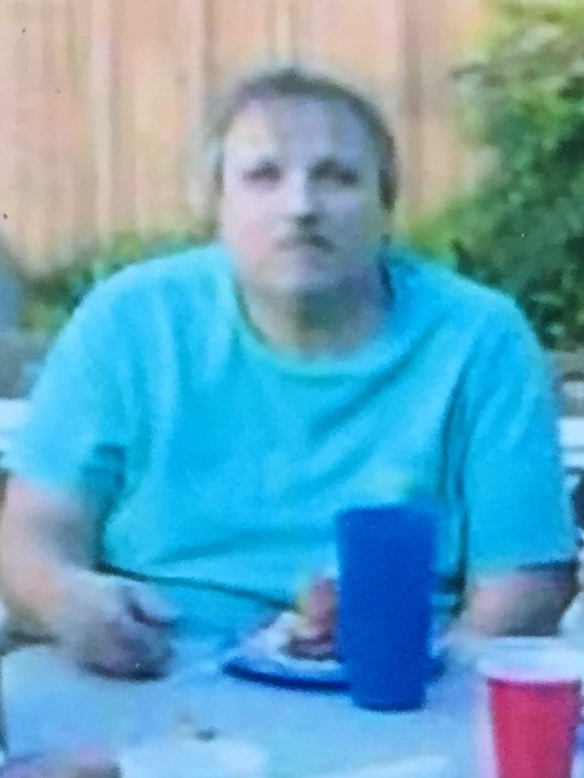 Billy Seigler, whose pelvis was broken in an attempted